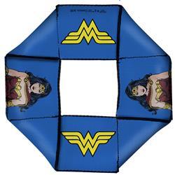 Wonder Woman JL Rebirth Pose/WW Icon Blue Pet Flyer Toy by Buckle-Down