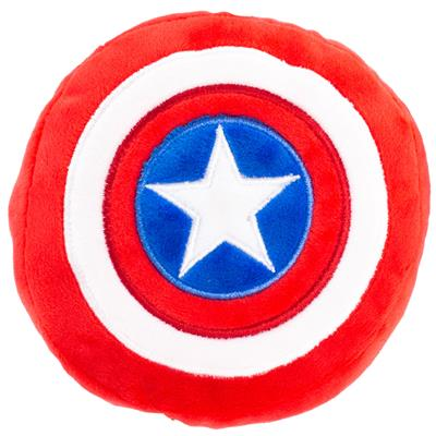 Captain America Pet Plush Squeaker Toy by Buckle-Down