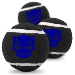 Black Panther Pet Toy Tennis Ball by Buckle-Down
