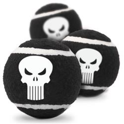 The Punisher Pet Toy Tennis Ball by Buckle-Down