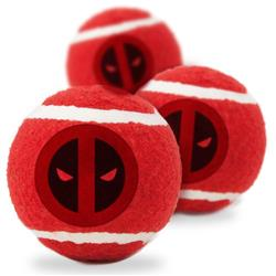 Deadpool Logo Centered/Scattered Red/Black/White Bone Toy by Buckle-Down
