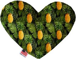 Pineapples in Paradise Heart Dog Toy