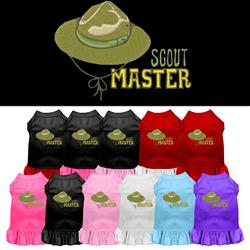 Scout Master Embroidered Dog Dress