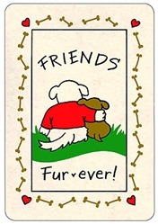 Crunch Card - Friends Fur-ever