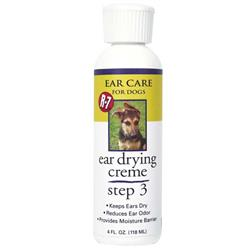 R-7 Ear Care Drying Creme for Dogs and Cats - 4oz.