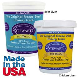Stewart Freeze-Dried Training Treats for Dogs