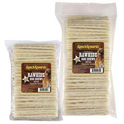 Ranch Rewards® Natural Rawhide Twist Treats