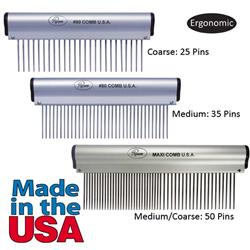 Resco® Ergonomic Grooming Combs