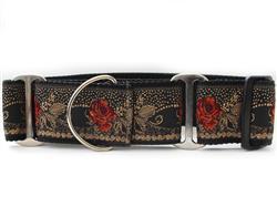 Dakota Rose Extra Wide Martingale Dog Collar
