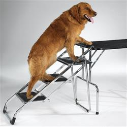 Master Equipment™ Pet Stairs for Grooming Tables and SUVs
