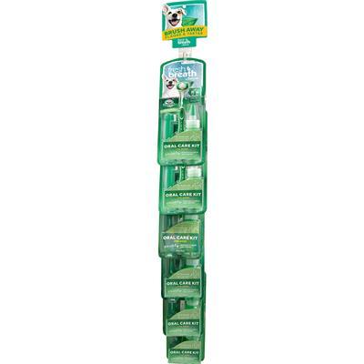 TropiClean Fresh Breath Oral Care Kit 6pc Clip Strips