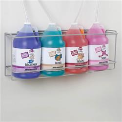 Master Equipment™ Four Gallon Shampoo Rack