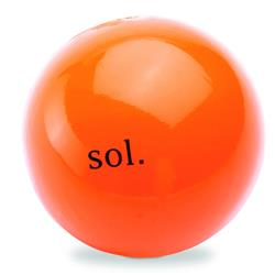 "Orbee Tuff COSMOS Ball 5"" Sol Orange by Planet Dog"