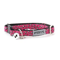 Cat Collar- Cheetah Pink