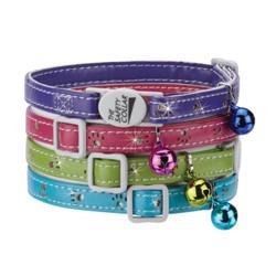 "Savvy Tabby® Sparkle Paw Collar 8""-12"""