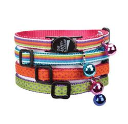 "Savvy Tabby® Decorative Ribbon Collar 8""-12"""