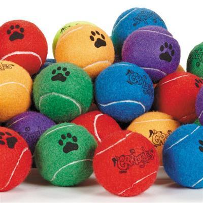 Grriggles® Bulk Tennis Balls - Bag of 60