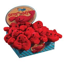 Grriggles® Catch Of Day - Plush Lobster Toys Display of 12