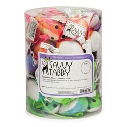 Savvy Tabby® Paradise Mice Canister - 40 pieces