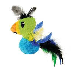 Petstages Catnip Filled Feather Toucan Cat Toy (While Supplies Last)