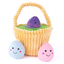 Easter Egg Basket - Zippy Burrow