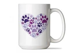 Heart Paw - Big Mug