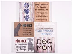 Small Pallet Box Signs Assortment – (includes 2 each of 4 designs)