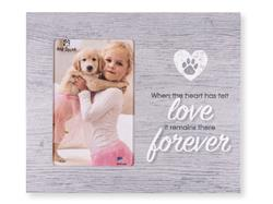 "When the heart has felt love... 9.5"" x 8"" Vertical Picture Frame"