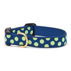 Navy / Lime Dot Dog Collection