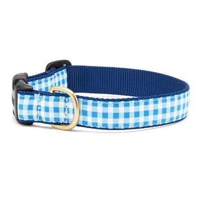 Blue Gingham Dog Collection