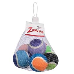 Zanies® Tennis Minis Dog Toys, 6 pack