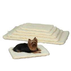 Slumber Pet™ Double Sided Sherpa Mat - Natural