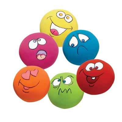 Zanies® Latex Funny Ball Toys - PrePack of 6 Pieces