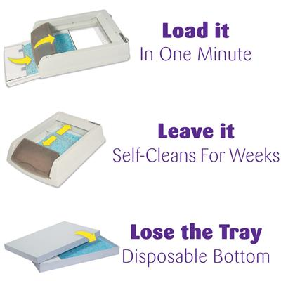 ScoopFree self-cleaning Original Litter Box in Taupe