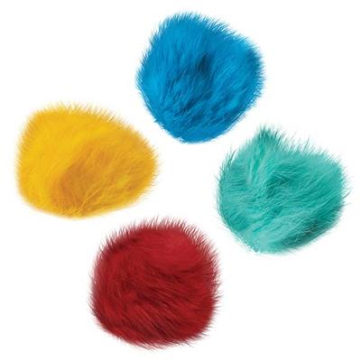 Zanies® Fur Balls Cat Toys - Canister of 80