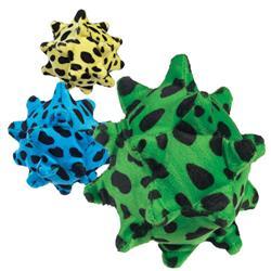 Zanies® Plush Squawking Nubby Ball Toys