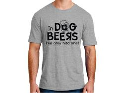 In Dog Beers...- Unisex T-Shirt