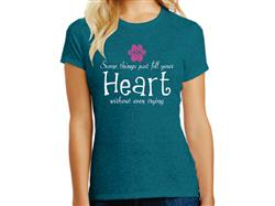 Some Things Just Fill Your Heart... - Ladies T-Shirt