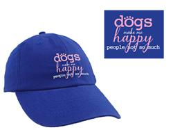 Dogs Make Me Happy -  Ball Cap
