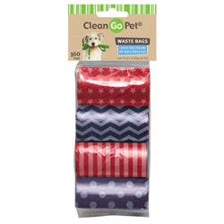 Clean Go Pet™ Stars & Stripes Waste Bags, 8-Pack