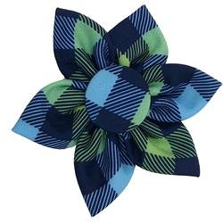 Huxley & Kent - Navy Check Pinwheel, Delivers March 2019