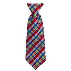Huxley & Kent - Preppy Plaid Long Tie, Delivers March 2019