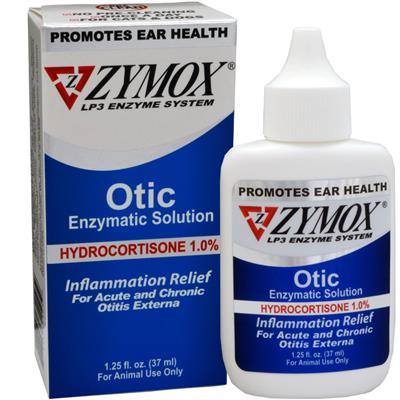 Zymox Otic (1.25oz) with Hydrocortisone (1.0%)