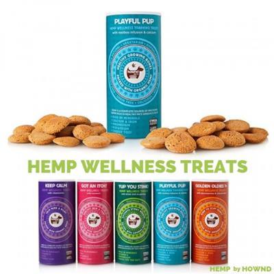Keep Calm - Hemp Wellness Treats - 4.5oz (130g)