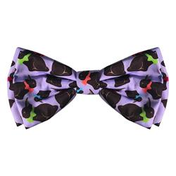 Chocolate Bunny Bow Tie by Huxley & Kent