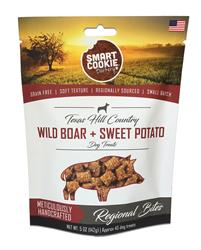 Texas Hill Country Wild Boar + Sweet Potato Dog Treats, 5oz