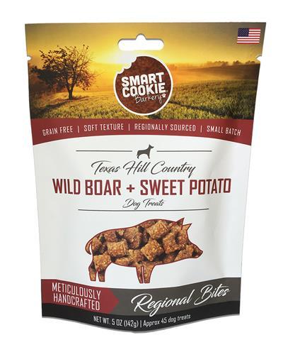 Texas Hill Country Wild Boar + Sweet Potato Dog Treats, 5oz