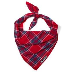 Red Plaid II  Tie Bandana