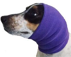 Happy Hoodie Large Purple- Grooming Hood
