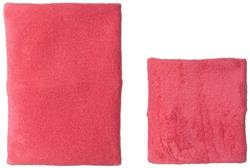 Happy Hoodie Two Pack- Grooming Hood - One large and One Small- Pink